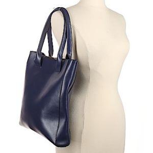 BCBGMax Azria leather tote bag